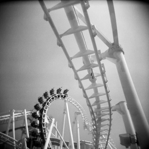 "Coaster Spine from ""Thrills and Chills"" - ISA LESHKO"