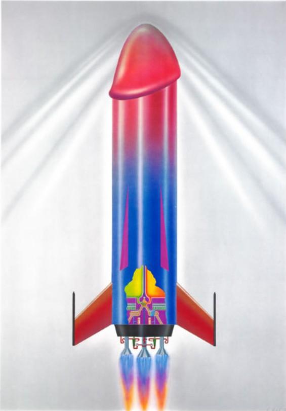 Cock Rocket by Alfred Beloch