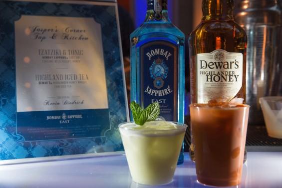 Cocktails ahoy! - RICHARD PATTERSON
