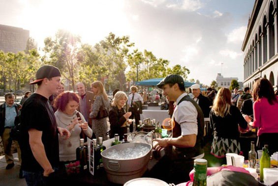 Cocktails al fresco by the bay - PHOTO COURTESY OF CUESA