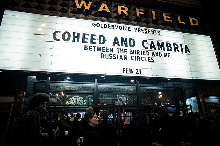 Coheed and Cambria @ The Warfield