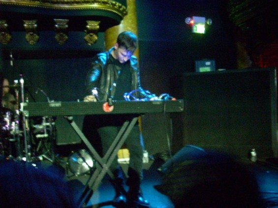 Cold Cave at Great American Music Hall last night.