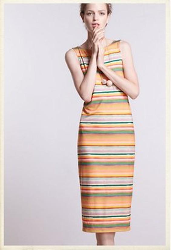 Color Spectrum Midi Dress, $138 at Anthropologie