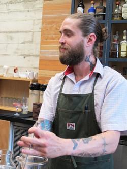 Comal bar manager Matthew Campbell - LOU BUSTAMANTE