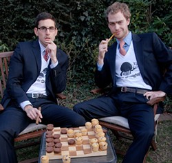 DOUBLE OR MUFFIN - Come on. How could you not make a bet with these guys?