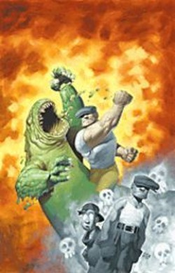 "COURTESY OF ERIC POWELL - Comics Kick Ass: The Goon in - ""Gross, Gruesome, and Gothic."""