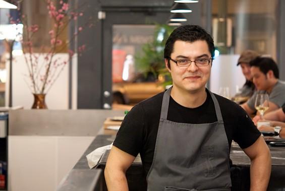 Commis pastry chef Carlos Salgado. - STARCHEFS.COM