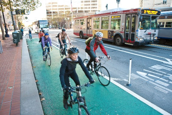 Commuters and people out to get exercise want to go fast. - TANYA DUERI