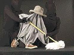 BILL  FAULKNER - Construction character - Mopsy.