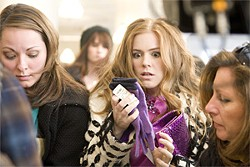 Consumption and noxious product placement: Isla Fisher as shopaholic Rebecca.