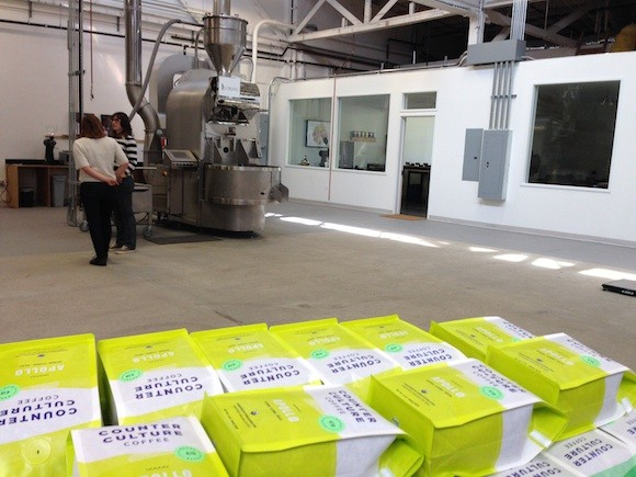 Counter Culture Coffee's Roasting and Classroom Facility in Emeryville - TREVOR FELCH