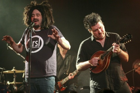 Counting Crows at Slim's on Friday. - CHRISTOPHER VICTORIO