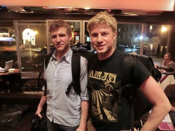 Brad and alex poke