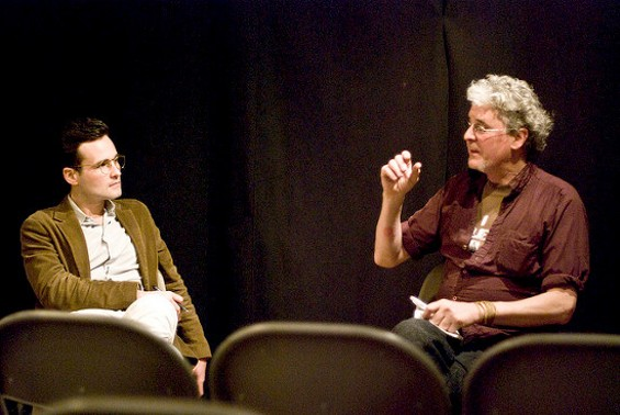 Craig Baldwin (right) has run Other Cinema for nearly three decades. - UNIONDOCS / FLICKR