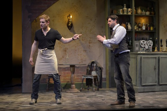 Craig Marker and Gabriel Marin go meta in The Understudy at the San Jose Rep. - KEVIN BERNE