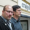 Craig Newmark speaks at victim's memorial in wake of Craigslist killings