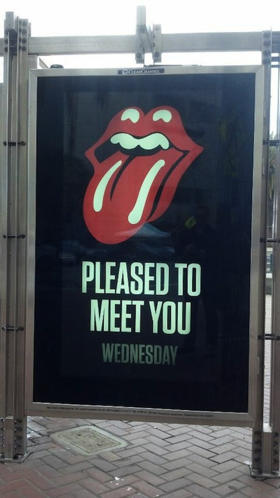 Here Is the Billboard That Proves the Rolling Stones Are