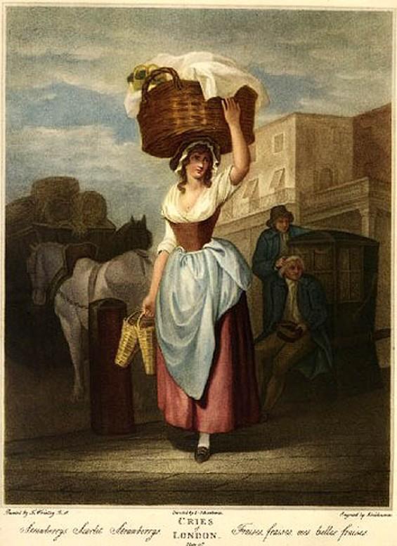 Cries of London: Strawberries - LARISSA ARCHER