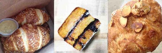 Croissants from Arlequin, Craftsman + Wolves and Arizmendi. - TAMARA PALMER/CRAFTSMAN + WOLVES
