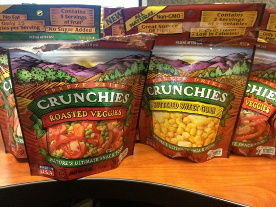 Crunchies have so many fun flavors to avoid. - ANNA ROTH