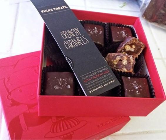 Crunchy caramels by Kika's Treats. - YELP/DONNA S.
