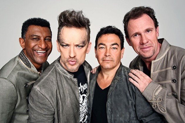 Yep, this is what Culture Club looks like now.