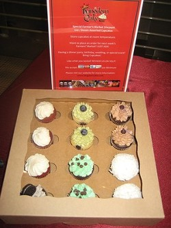 Cupcake maker Kingdom of Cake is one of 10 new vendors. - MEREDITH BRODY