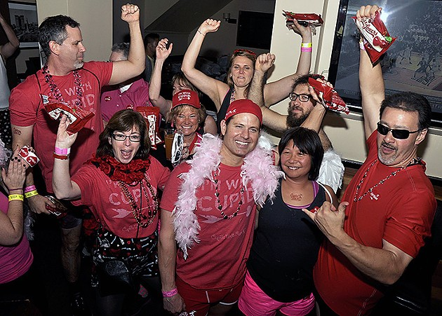 Cupid's Undie Run in the Marina