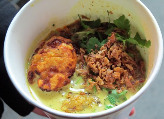Curry Laksa from Azalina's - LOU BUSTAMANTE