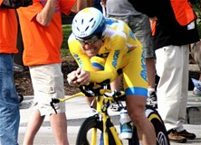 Cyclist Levi Leipheimer must pedal out of trouble
