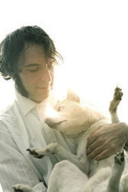 Daedelus and dog.
