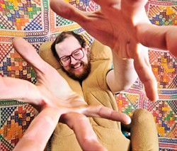 JOSHSISK.COM - Dan Deacon: How is this guy friends with Francis Ford Coppola?