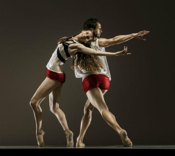 Dancers Norma Fong and Brendan Barthel - RJ MUNA