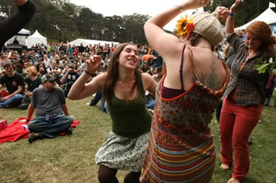 Dancing in the fog at Golden Gate Park - CHRISTOPHER VICTORIO