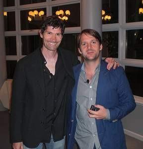 Daniel Patterson, left, and Rene Redzepi. - ENAH MANSON/FLICKR
