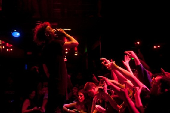 Danny Brown at the New Parish last night. - PHOTOS COURTESY JEFFREY GOODWIN