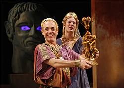 HENRY DIROCCO - Danny Scheie plays an impish-shrill Nero.