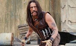 Danny Trejo plays a down-and-dirty hitman.