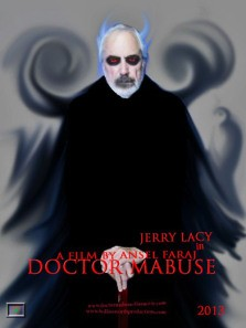 Dark Shadows' Jerry Lacy as Doctor Mabuse: Don't look into his eyes! - ANSEL FARAJ