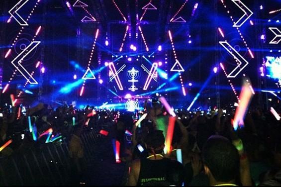 David Guetta at Ultra Music Festival in Miami.