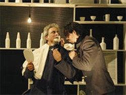 ROB MELROSE - David Sinaiko (as the Captain) and Chad Deverman (as Woyzeck) in a scene from the play.
