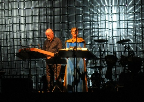 Dead Can Dance at the Greek Theatre last night.