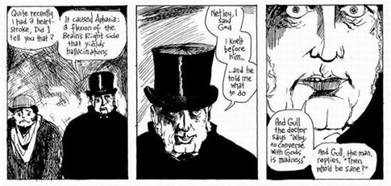 ALAN MOORE AND EDDIE CAMPBELL
