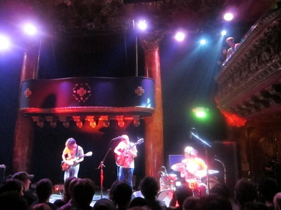 Deerhoof at Great American Music Hall on Friday night.