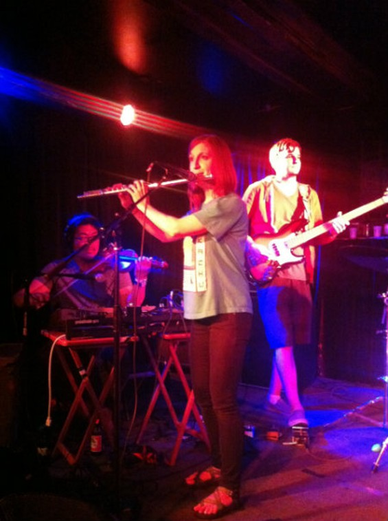 Deerpeople at Cafe Du Nord last night.