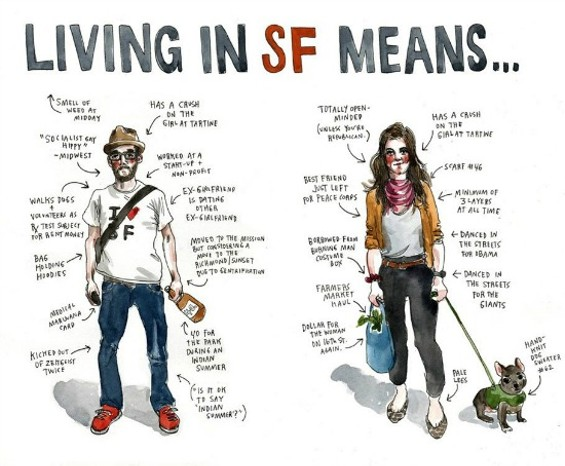 "Depicting the ""typical"" San Franciscan, - WENDY MACNAUGHTON"