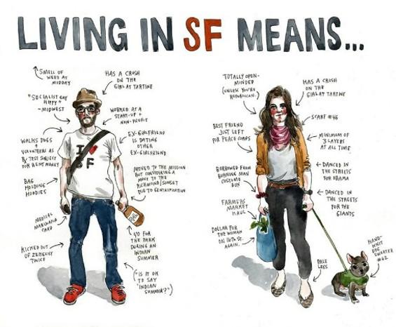 "Depicting the ""typical"" San Franciscan, - WENDY MACNAUGHTON"