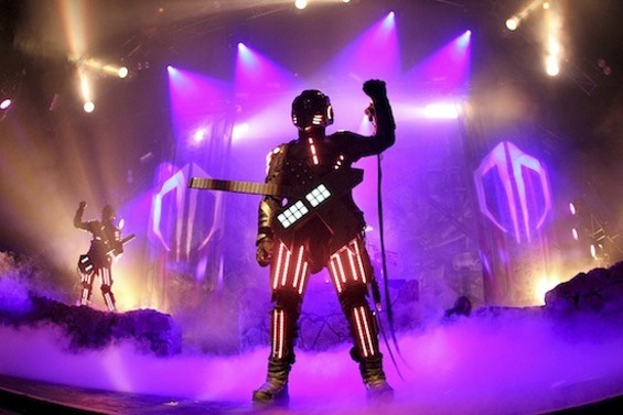 Destroid at the Warfield. All photos by Christopher Victorio