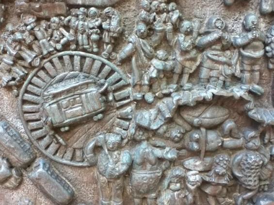 Details of the Asawa Hyatt Fountain - JUAN DE ANDA/SF WEEKLY