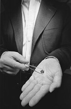 PAOLO  VESCIA - Diamonds are not only valuable, they are extremely - portable.